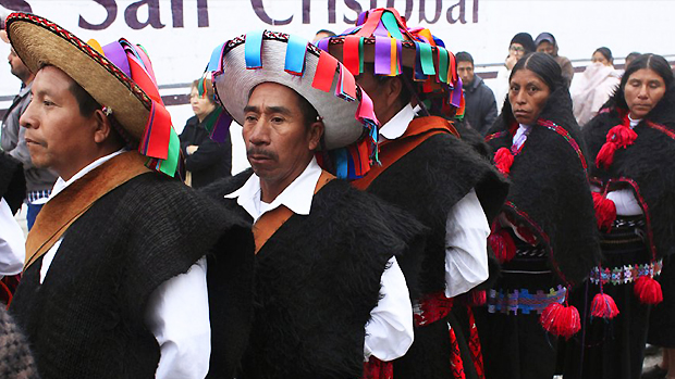 Pope Francis in Mexico: Pontiff delivers mass in three indigenous languages during Chiapas visit