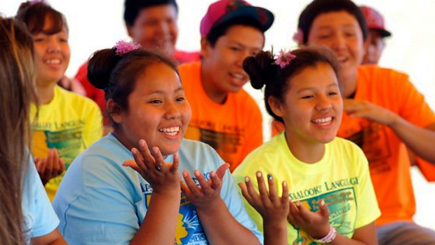 'Keep speaking Crow to me': Teens immerse themselves in Native language