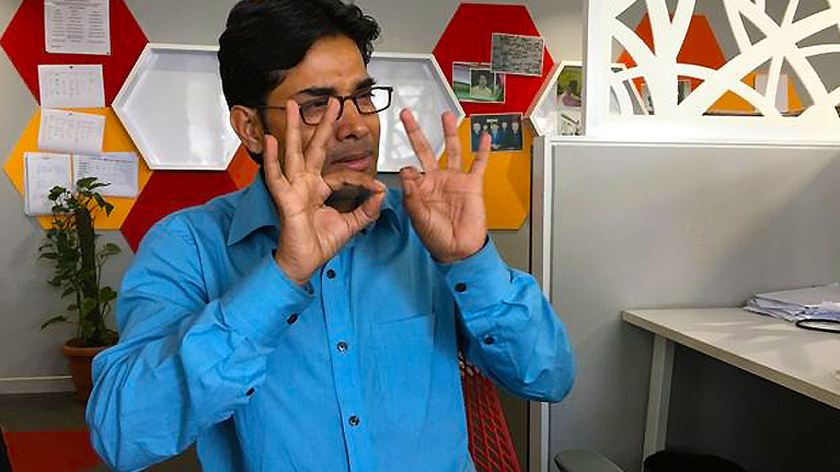 The people behind India's first sign language dictionary