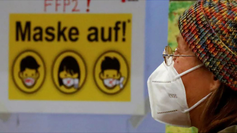 Foot greetings and face condoms: Germans coin 1,200 new words about the pandemic