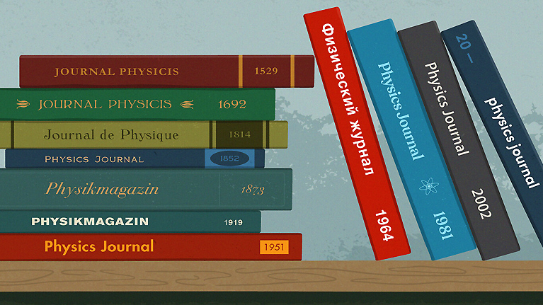 How English became the language of physics