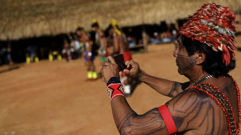 In Brazil, smartphone initiative keeps indigenous languages alive