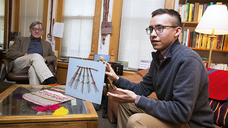 The College Student Who Decoded the Data Hidden in Inca Knots